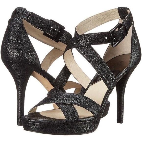 e1ff9d8d9 Michael Kors Shoes | Evie Leather Strap Platform Pumps New | Poshmark